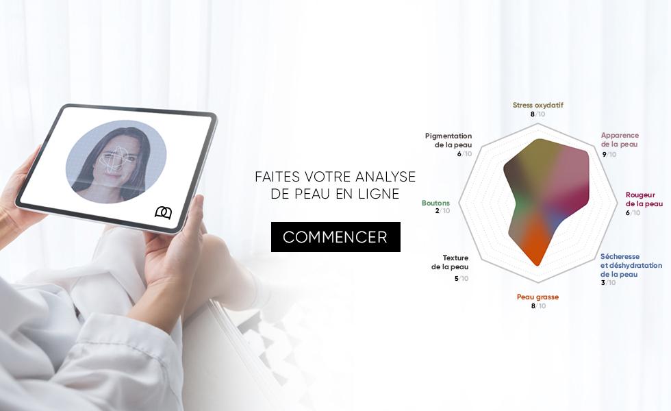 Réaliser le diagnostique de votre visage en ligne